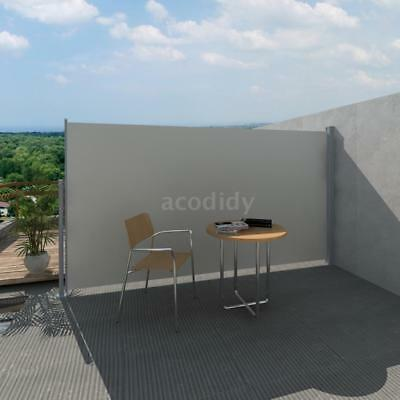Toldo Lateral De Patio Terraza 180 x 300 cm Color Crema S6D3