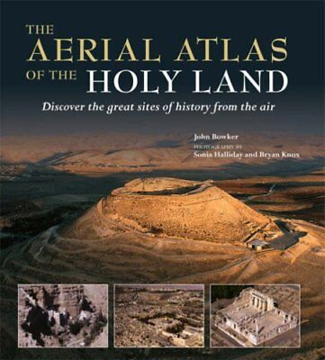 The Aerial Atlas of the Holy Land Hardcover (NEW)