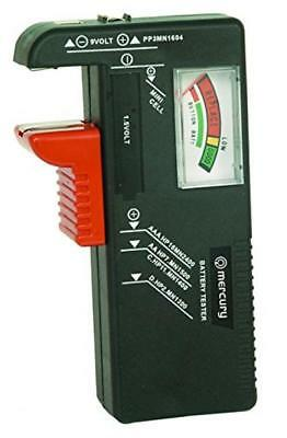 Skytronic Mercury Battery Tester For AA, AAA, PP3 And Button Cells
