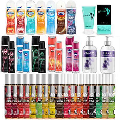 Durex Lube | ID Lube | Flavoured Lubricant | Silicone Lube | Sex Lube | Massage
