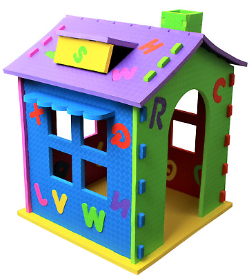 Childrens Rigid Playhouse Indoor Outdoor Kids Garden Play House  Wendy house