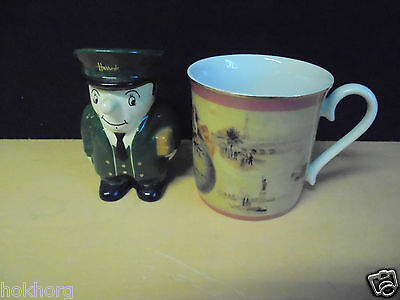 Harrods Man Pot Ornament And Archive Collection Mug