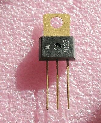 E.F. Johnson Service Part 576-2-27 (Motorola 2027) NPN Audio Transistor (MPSU01)