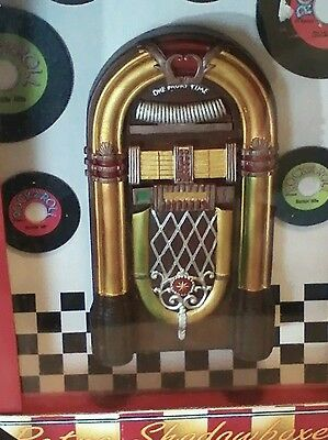 Retro Diner Jukebox Shadow Box!  Collector's item!