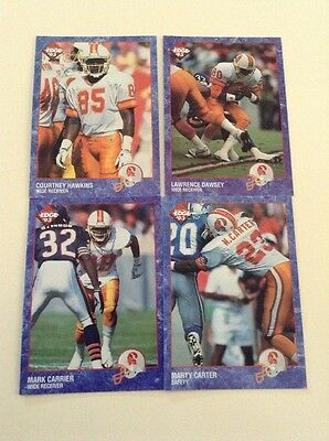 Tampa Bay Buccaneers Four Edge 1993 Cards