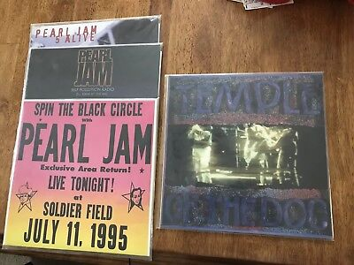 Pearl Jam Vinyl Lot *Unofficial* 5 Alive, Self Pollution Radio, Soldier Field
