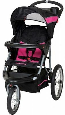Baby Trend Expedition Jogger Stroller, Bubble Gum, NEW, TAX FREE!