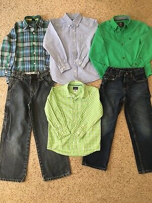 Boys 6/7 T Clothing Outfits Shirts Pants Clothes lot!