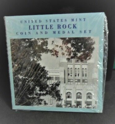 2007 U.S. Mint Little Rock Coin & Medal Set - Sealed Unopened! - ENN COINS