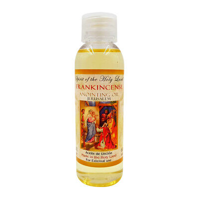 Frankincense Anointing Oil From Israel Blessed in Jerusalem Holy Land 2 fl.oz