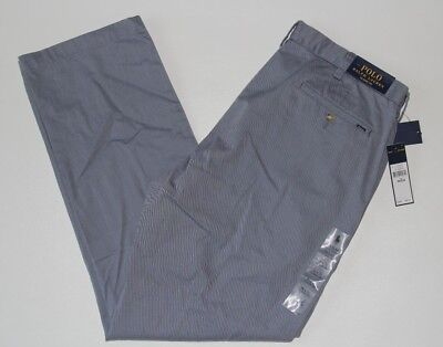 New Polo Ralph Lauren Blueberry Men's 36x32 Classic Fit Flat Front Chino Pants