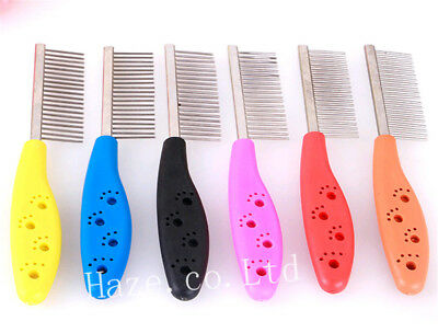 1pc Trimmer Grooming Comb Brush Comb Shedding Flea For Pet Cat Dog