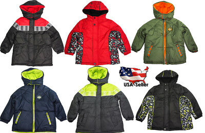 4 Colors Available Valteena Girls Winter Outerwear Ski Snow Puffer Coat Jacket