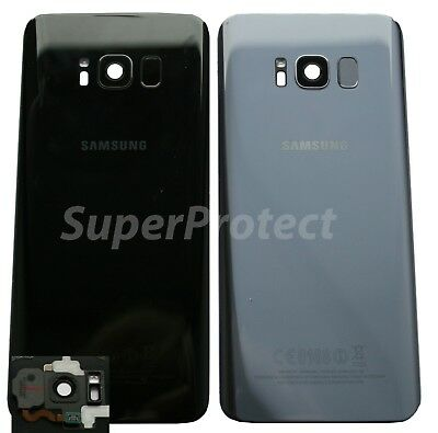 Genuine Samsung Galaxy S8 G950 Rear Back Glass Battery Cover Camera LENS Panel