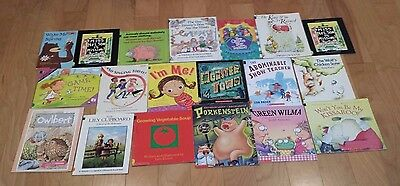 Lot of 19 Grade 2-3 Children's Picture Books Reading Level 2.0-2.9 Set B