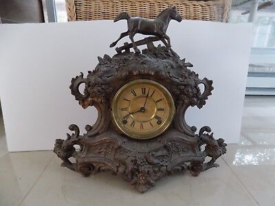 N. Muller&Sons #111 : Small Horse, 8 d ,Strikes Half Hour and Hours, Complete