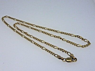 A Very Fine quality 9ct Gold Figaro Chain 16.5 inch 5.4 grams