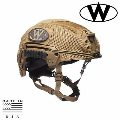 Team Wendy EXFIL® Carbon & LTP Bump Helmet Mesh Helmet Cover
