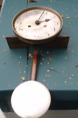 Clock Parts 8 Day  Wall  Clock Movement   & Pendulum