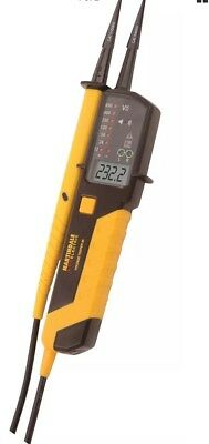 Martindale VT28 Two Pole Voltage Continuity Phase Tester with LCD screen