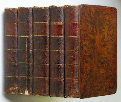 FANNY BURNEY - CAMILLA or A PICTURE OF YOUTH • 5 vols 1796 • FIRST EDITION