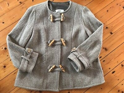 lover the label Wool Pea Coat Size 10