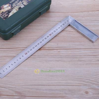 Metal Steel Engineers Try Square Set Right Angle Woodworking Measuring Hand Tool