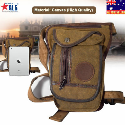 Men's Drop Leg Bag Waist Fanny Pack Belt Tactical Motorcycle Multi-purpose Bags