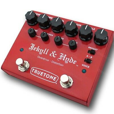 TRUETONE V3 Jekyll & Hyde Distortion Guitar Effects Pedal Visual Sound NEW