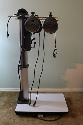 Polaroid MP4 Land Camera Stand/Base 44-01 With Light Fixtures And 6 Outlets