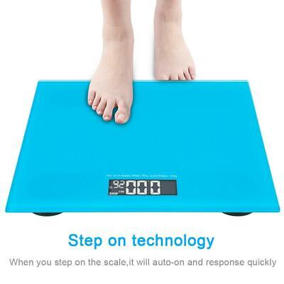 Digital Bathroom Scales Weighing Scale Ideal for Weight Watchers 180KG/396lb