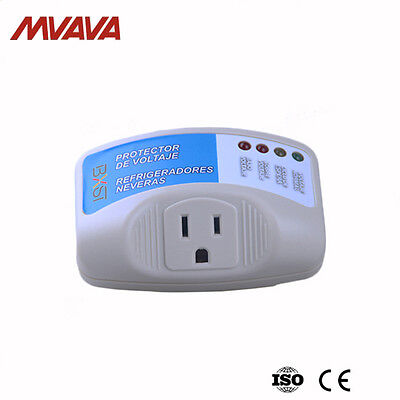 Home Appliance Surge Protector Voltage Brownout Plug Outlet 4 Mode Free shipping