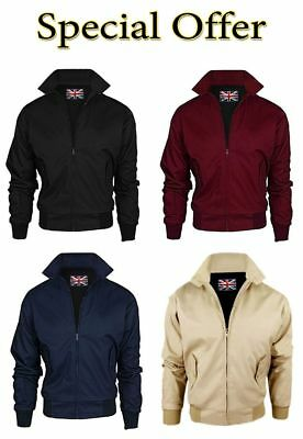 Casual And Formal Wear Jacket Harrington Classic Vintage Bomber Style For Men