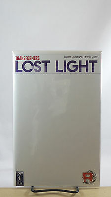 Transformers Lost Light #1 Blank Sketch Variant Cover Idw Comics 2016
