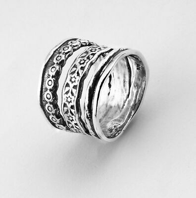 New SHABLOOL Israel Ring White Color 925 Sterling Silver Jewelry Lady