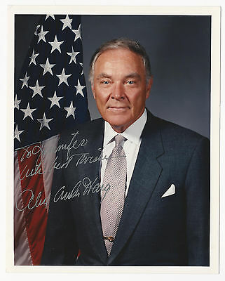 Alexander Haig Signed Autograph 8x10 Picture Photo Secretary of State General