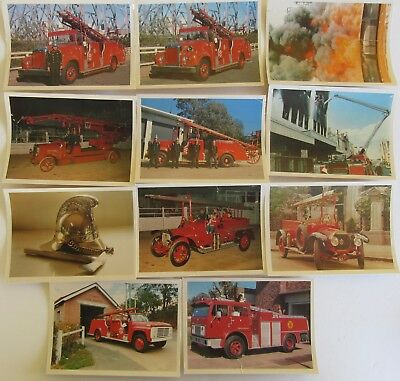 Fire Service Postcards and Photos - Selection of  70 various items