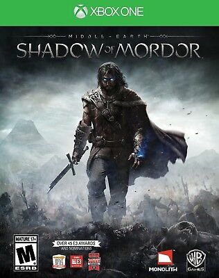 MIDDLE EARTH SHADOW OF MORDOR Microsoft Xbox One Game