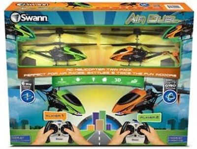 Swann SWTOY-DUELGM-GL Air Duel - Neon Green & Tango Mango