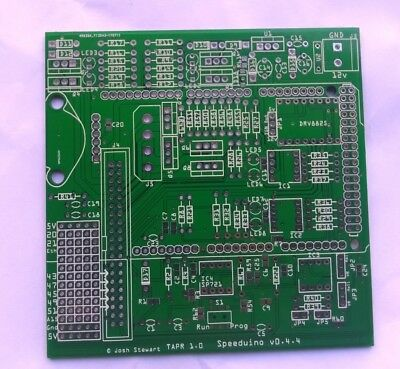 Speeduino 0.4.4 PCB shield arduino megasquirt ecu standalone engine management