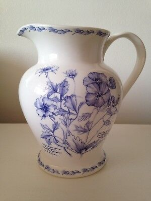 Royal Horticultural Society 'The Garden' Fine China Large Jug