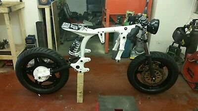 powder coating motorbike restoration