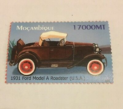 1931 Ford Model A Roadster Stamp