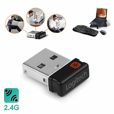 Logitech Unifying Receiver Wireless Keyboard Mouse Dongle pour K250 K350 K800 MK