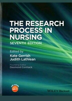 The Research Process in Nursing by Kate Gerrish (paperback) - 7th Edition
