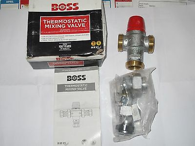 1 no **FREE POST** LATEST BOSS BOSSMIX 22 MM TMV2/3 THERMOSTATIC MIXING VALVE