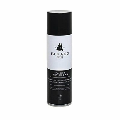 Famaco Fa Det Dry Clean Suede & Leather Cleaner Suede Remover 250ml Spray