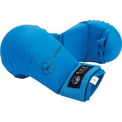 NEW Tokaido Karate Sparring Mitt BLUE - Gloves Judo Taekwondo Martial Arts WKF