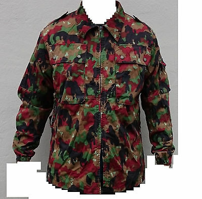 Swiss Army TAZ83 Alpenflage camo Jacket size   X-Large   used Grade 1 condition