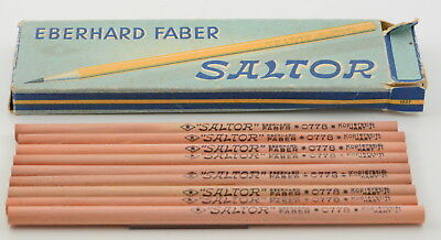 9x Eberhard Faber Saltor 0778 Kopierstift hart copying pencil hard